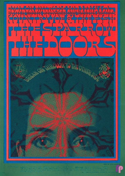 Victor Moscoso Avalon Ballroom 3/3-3/4, 1967