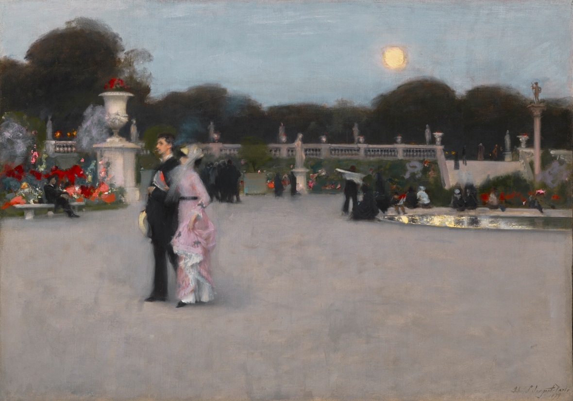 Sargent, Luxembourg Gardens PMA